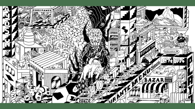 """Exposición virtual """"Ficciones: Cartografías de una ciudad"""" de Alexandre Cornet"""