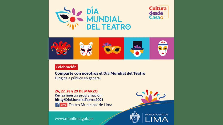 En el Día Mundial del Teatro, la Municipalidad de Lima rinde homenaje a Ricardo Roca Rey