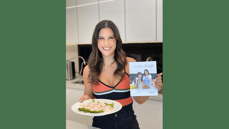 Pía Copello lanza libro de recetas