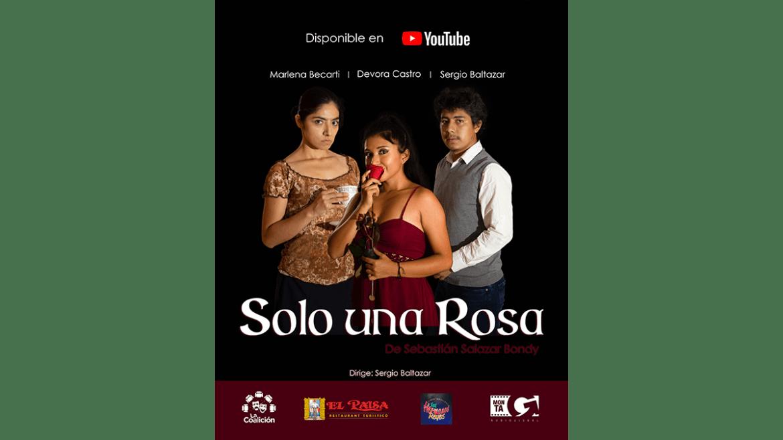 Estreno virtual de la obra «Solo una rosa»