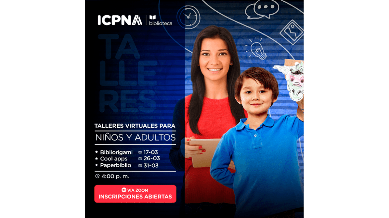 ICPNA realizará talleres didácticos para niños y adolescentes