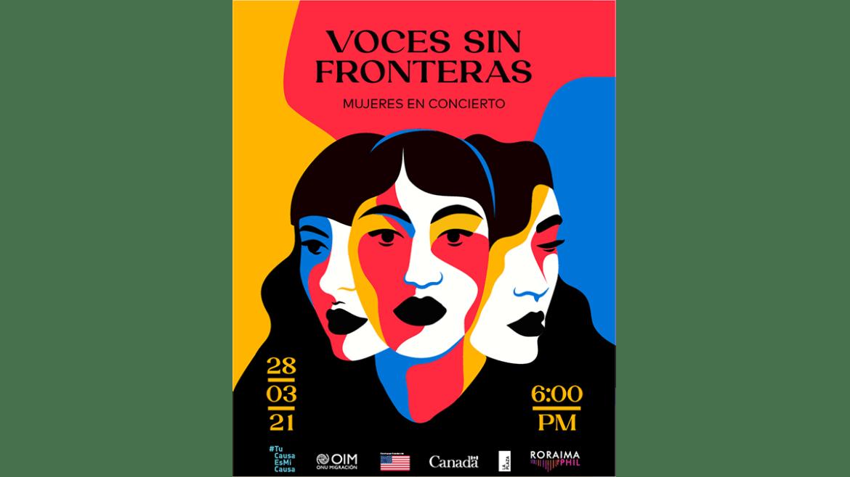 «Voces sin fronteras», voces femeninas por la migración en el mes de la mujer