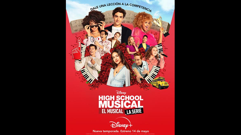 Segunda temporada de «High School Musical El Musical: La Serie»