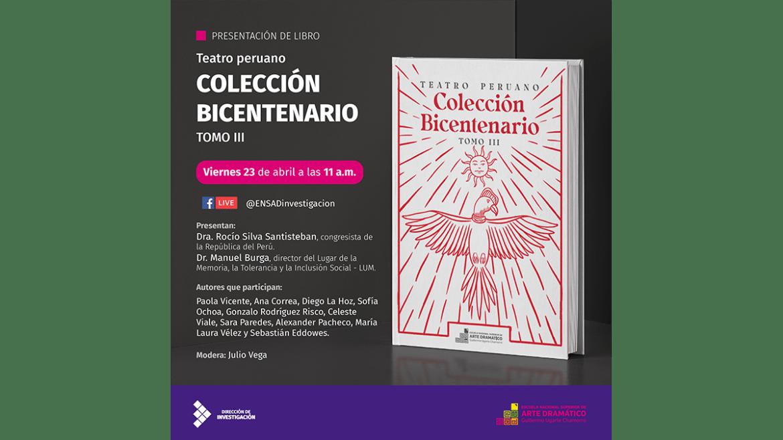 Presentación de la publicación «Colección Bicentenario TOMO III»