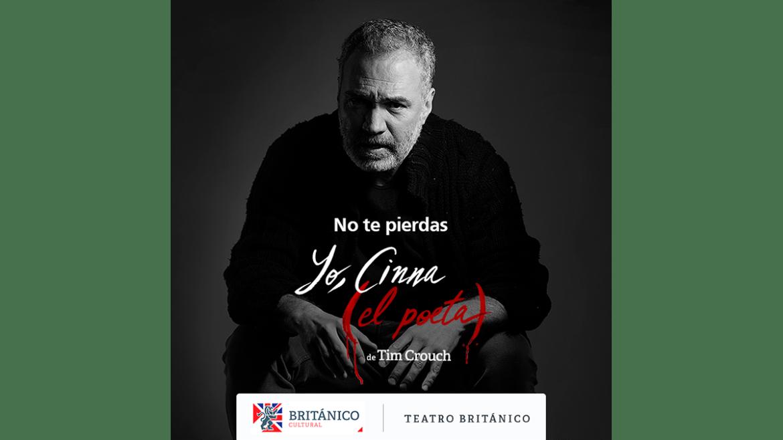 Salvador del Solar regresa al teatro en «Yo, Cinna (el poeta)»