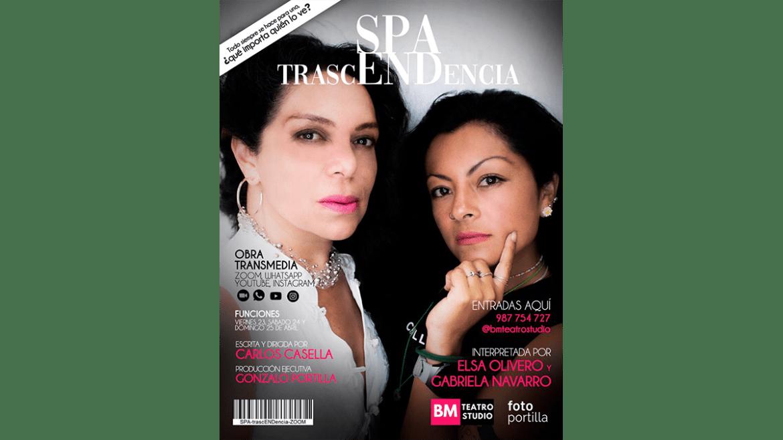 Obra «Spa Trascendencia» se estrena en formato transmedia