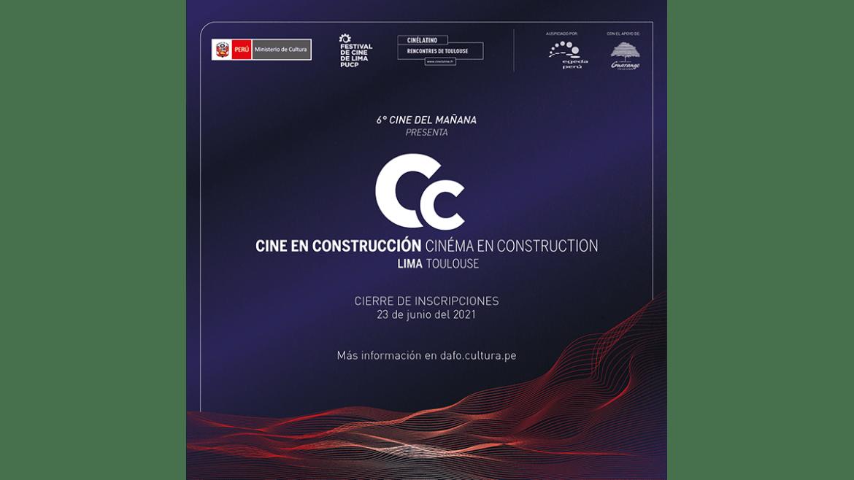 Cine en Construcción 40 abre su convocatoria para la 6° edición del Cine del Mañana