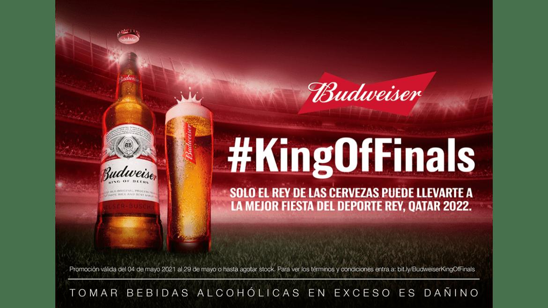 Budweiser nos invita a disfrutar de la verdadera final del deporte rey