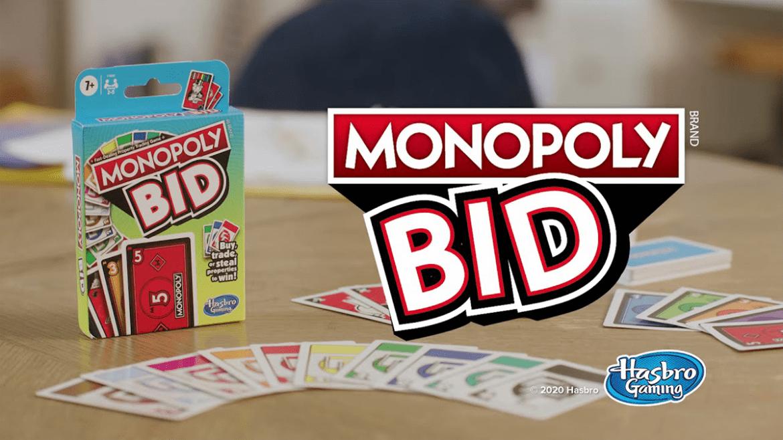 Monopoly BID: nueva versión de juego en formato de cartas