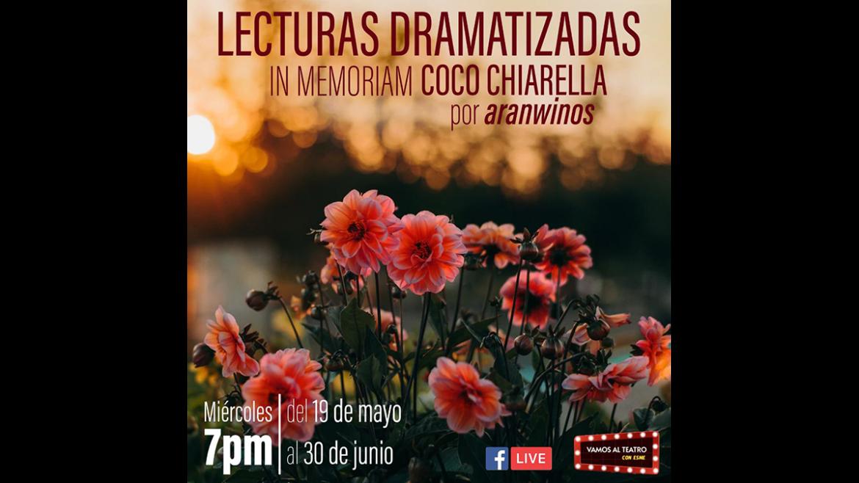 Lecturas dramatizadas 'In memoriam Coco Chiarella'