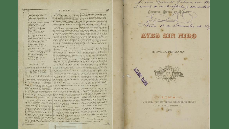 Material bibliográfico documental de Clorinda Matto de Turner es declarado Patrimonio Cultural de la Nación