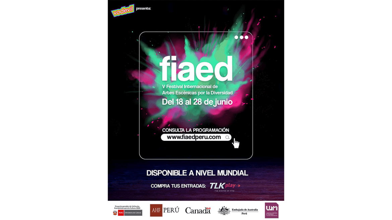 Quinta edición del Festival Internacional de Artes Escénicas por la Diversidad – FIAED