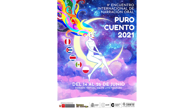 IX Encuentro Internacional de Narración Oral Puro Cuento 2021