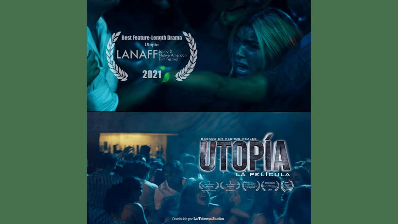 «Utopía, la película» gana primer lugar en festival en USA