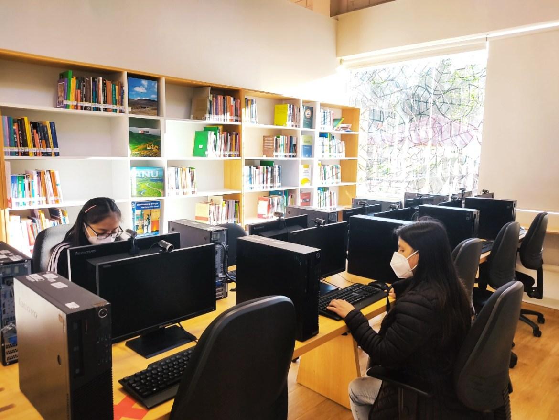 """BNP presenta la Estación de Biblioteca Pública """"Manuel Rivera Piedra"""" en la provincia de Cutervo"""