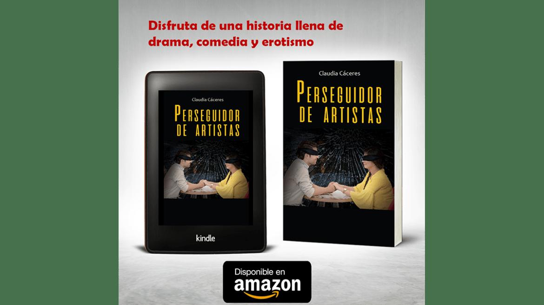 Novela «Perseguidor de artistas» disponible en Amazon