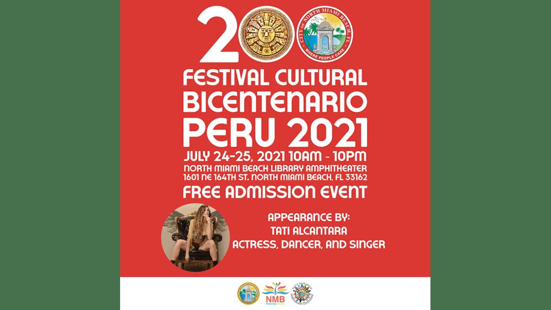 Tati Alcántara representa a Perú en festival en Miami
