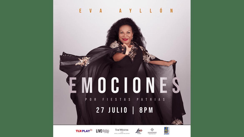 Eva Ayllón ofrecerá serenata al Perú en su Bicentenario de Independencia