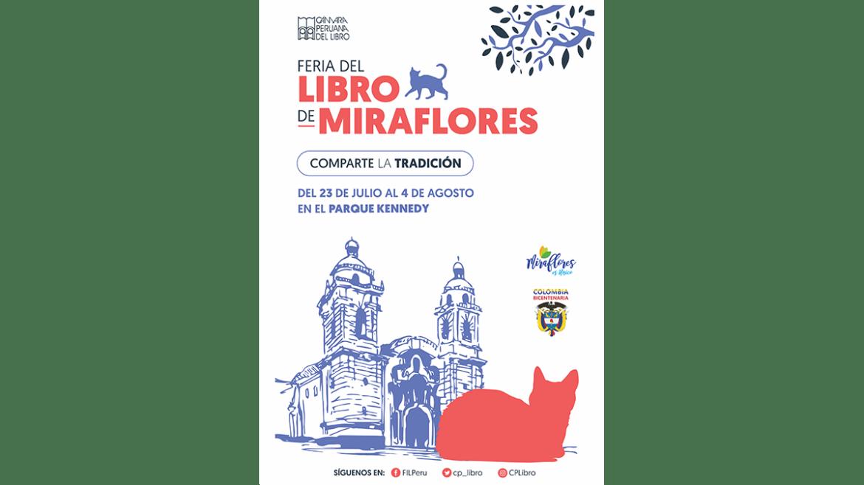 Primera Feria del Libro de Miraflores «Comparte la tradición»