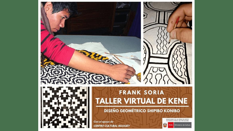 Taller virtual de Kené: Diseño geométrico shipibo konibo