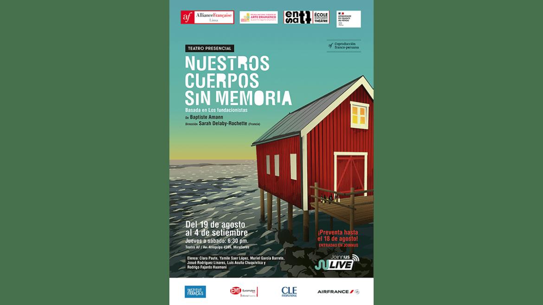 Estreno de la obra «Nuestros cuerpos sin memoria», coproducción francoperuana