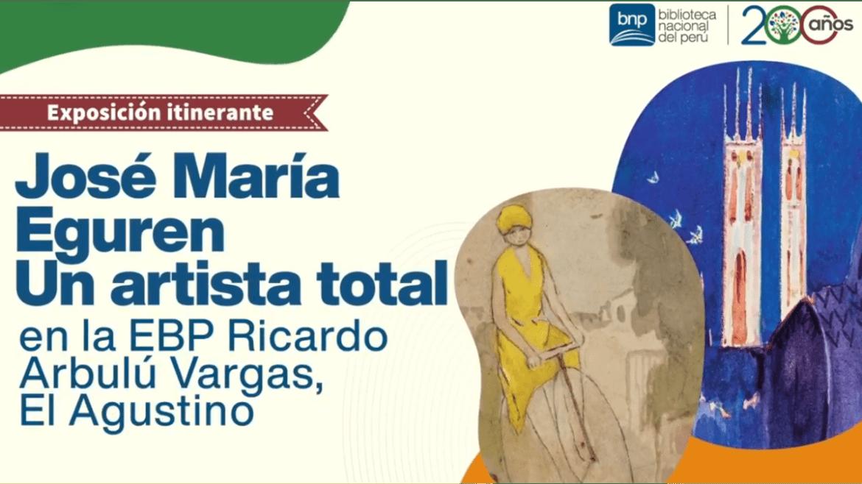 Biblioteca Nacional del Perú presenta la exposición «José María Eguren, un artista total»