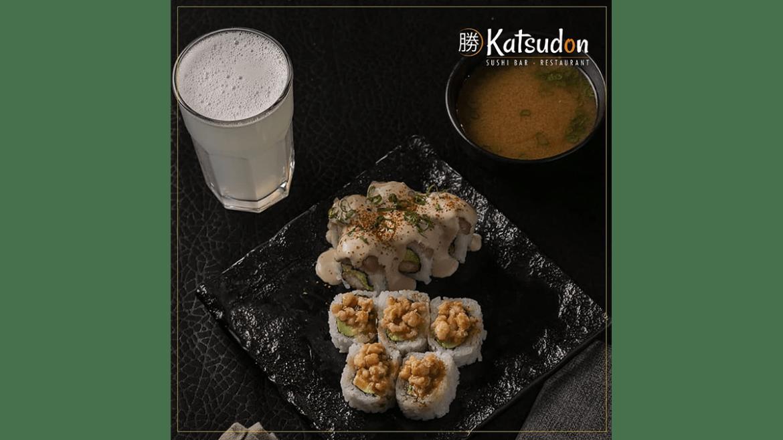 Katsudon sushi bar lanza combos para el almuerzo