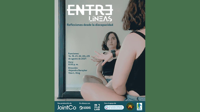 Video-performance «Entre Líneas»: Una reflexión escénica sobre la discapacidad