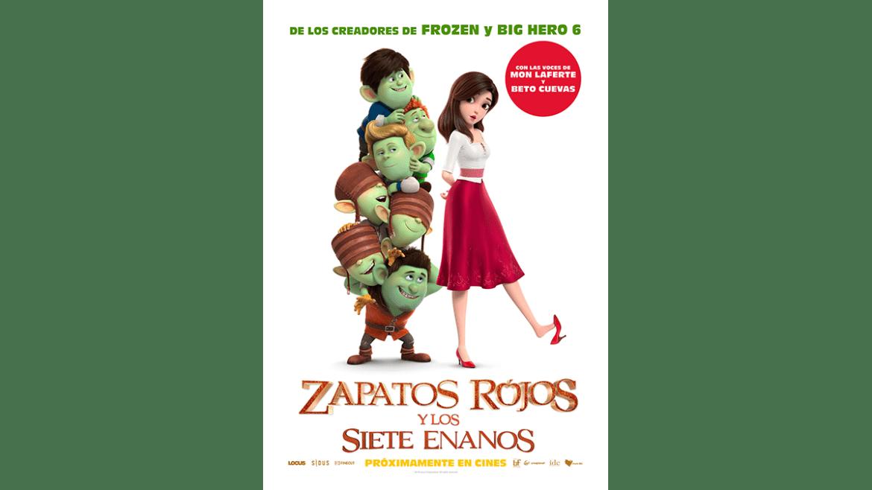 «Zapatos rojos y los siete enanos» se estrena este 12 de agosto en Perú