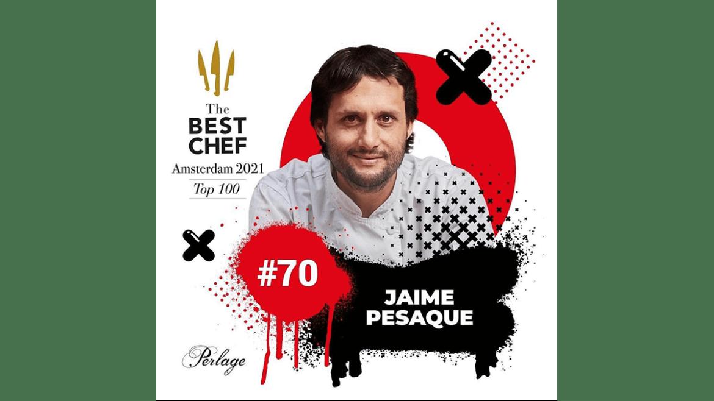 Jaime Pesaque entre los 100 mejores chefs del mundo
