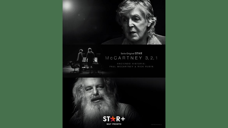 Star+ presenta en exclusiva «McCartney 3, 2, 1»