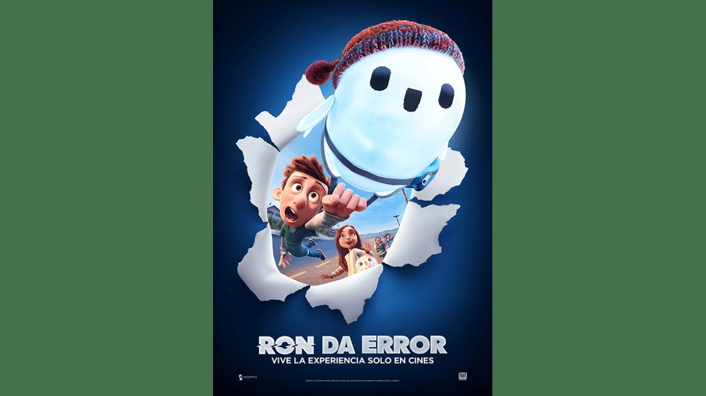 Nuevo trailer y póster de «RON DA ERROR»