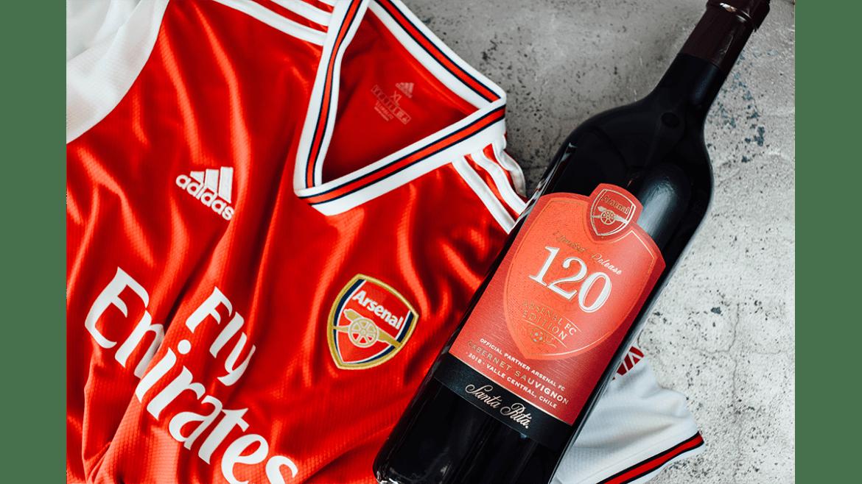 Viña Santa Rita presenta «120 Arsenal FC»