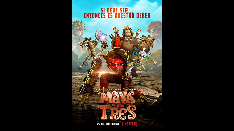 Trailer de la serie animada «Maya y los tres»